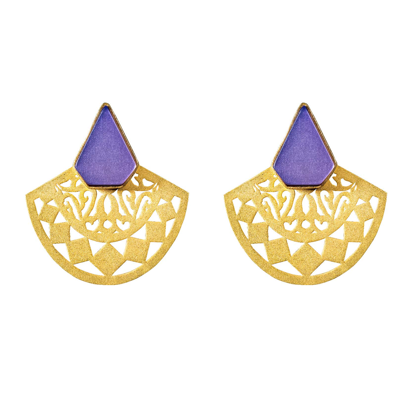 SEMI-CIRCLE EARRINGS