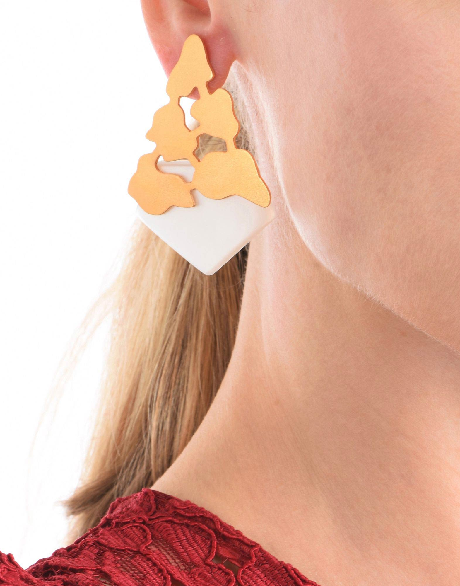 CRACKED CONCRETE EARRINGS