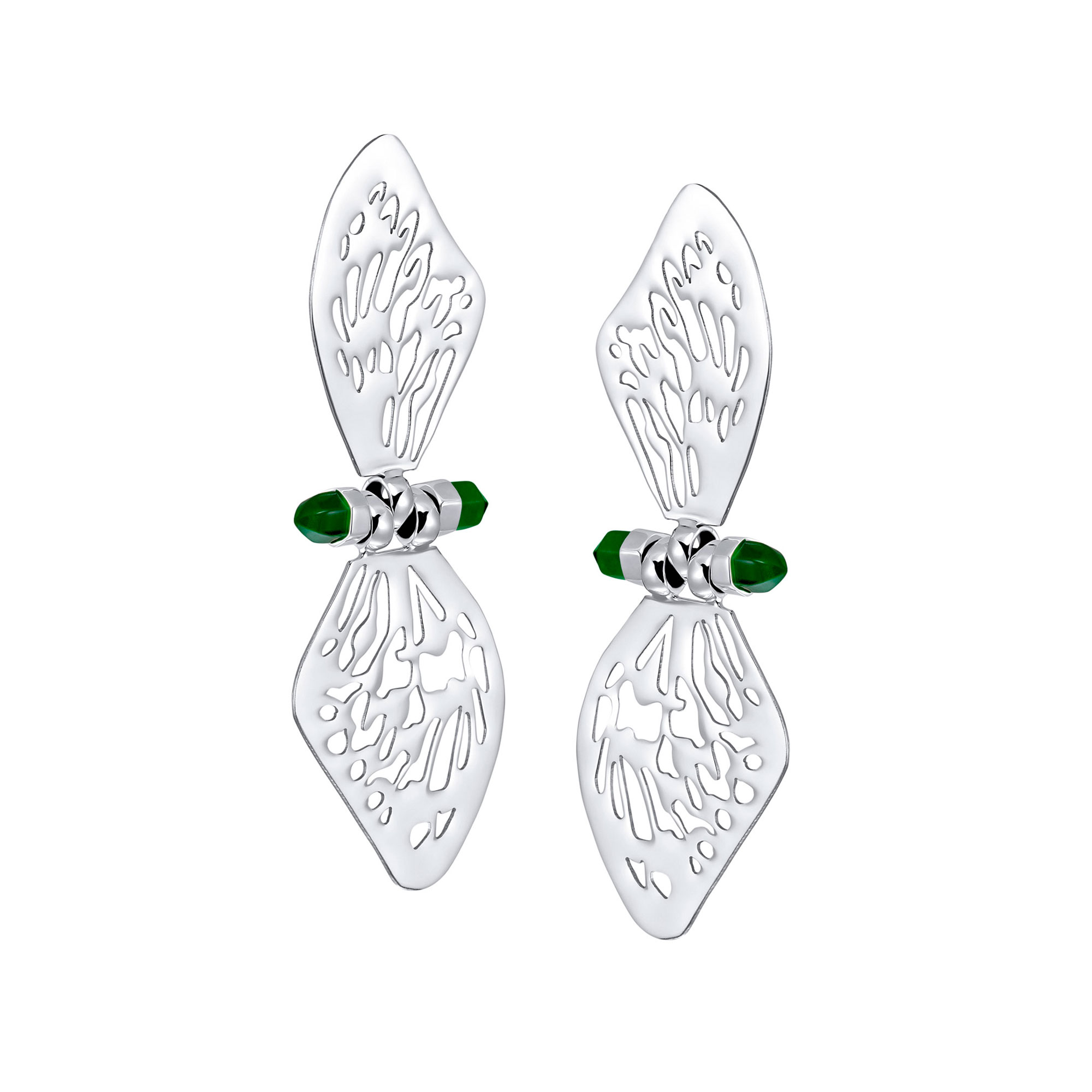 GLASSWING EARRINGS
