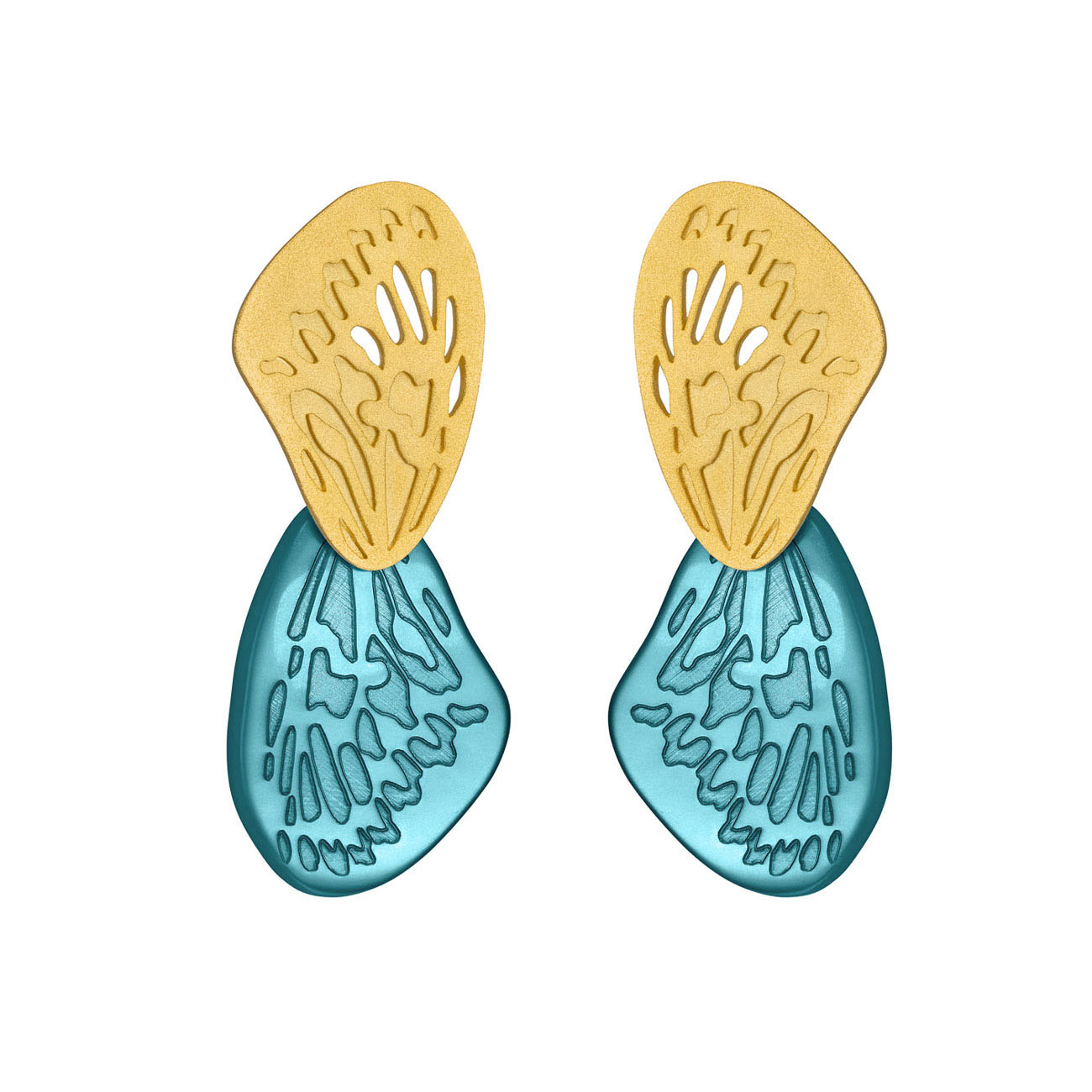 SWALLOWTAIL EARRINGS