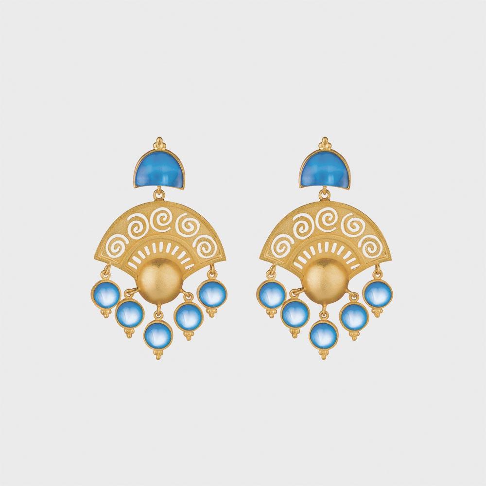 ONLINE EXCLUSIVE | Blue Pianetti Earrings
