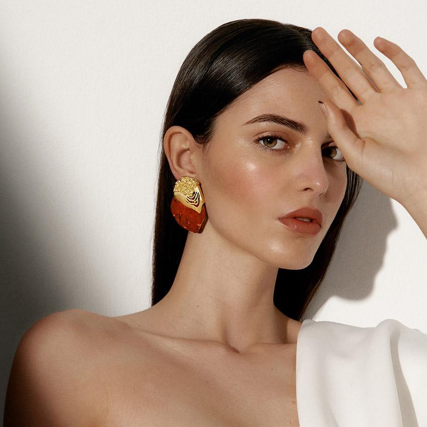 Erupt Earrings