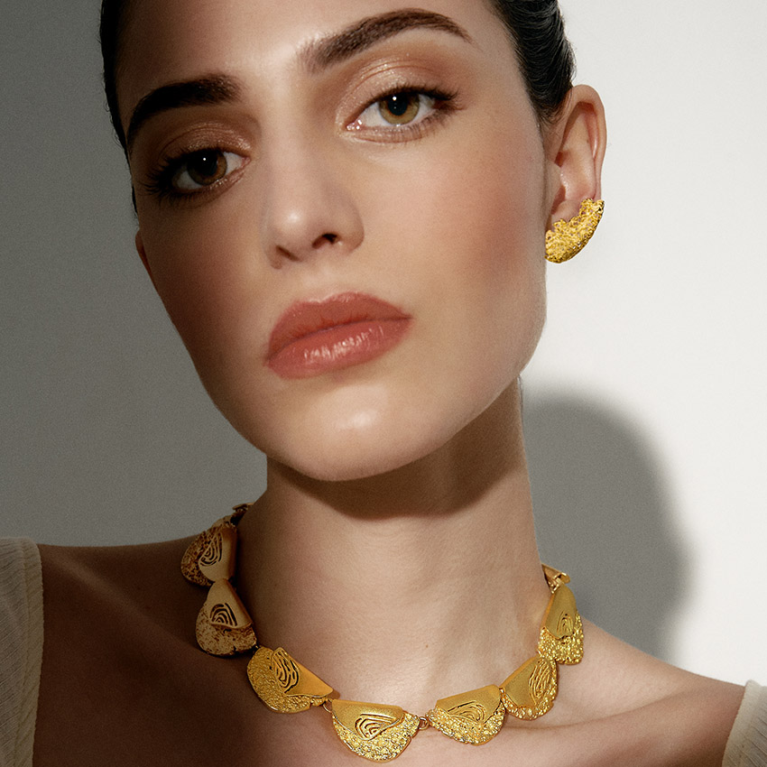 Molten Necklace