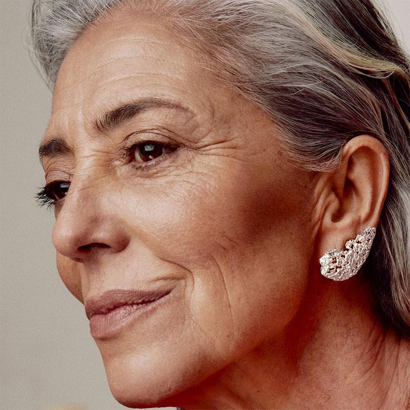 Asama Silver Earrings