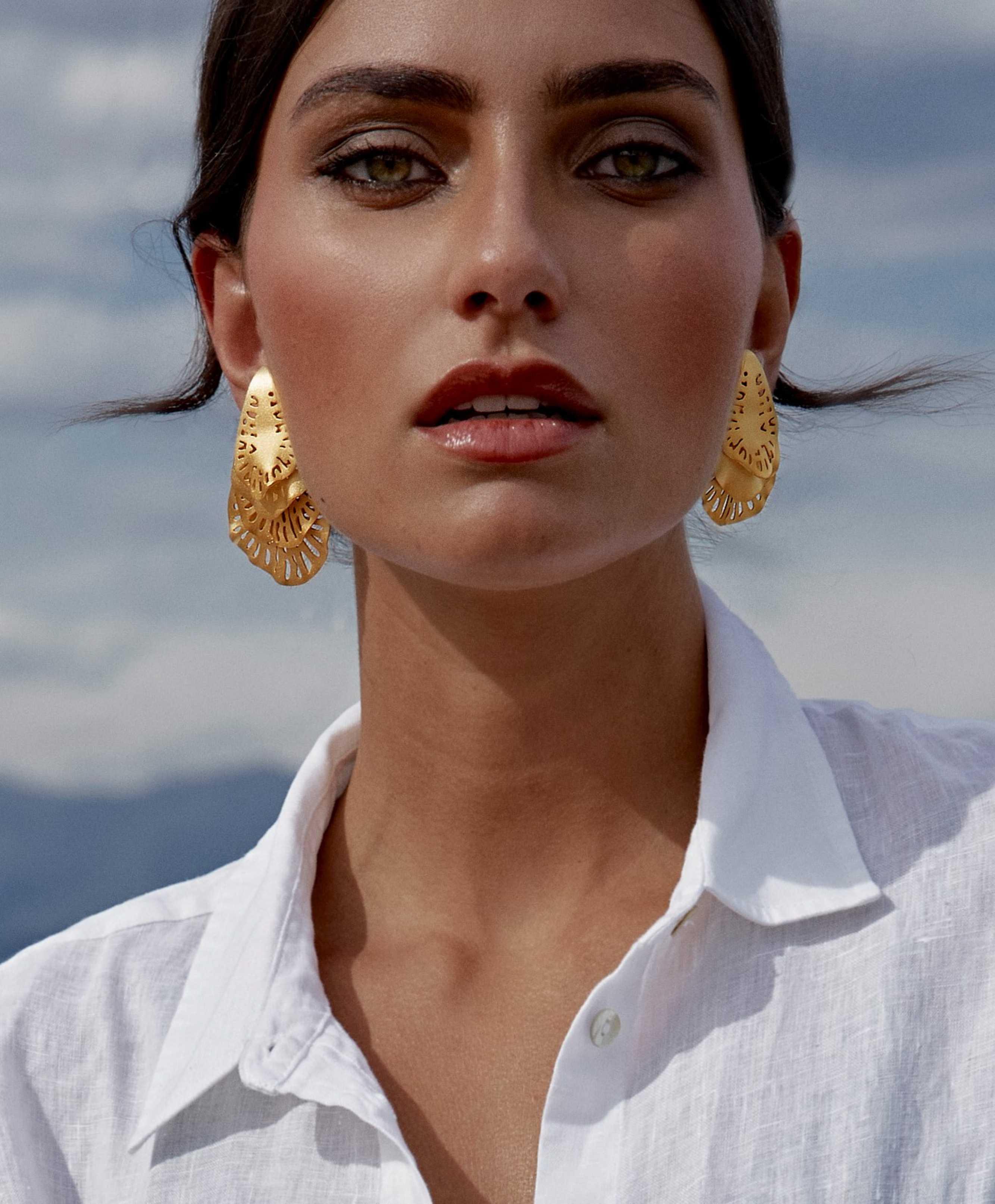 Harp Shell Earrings