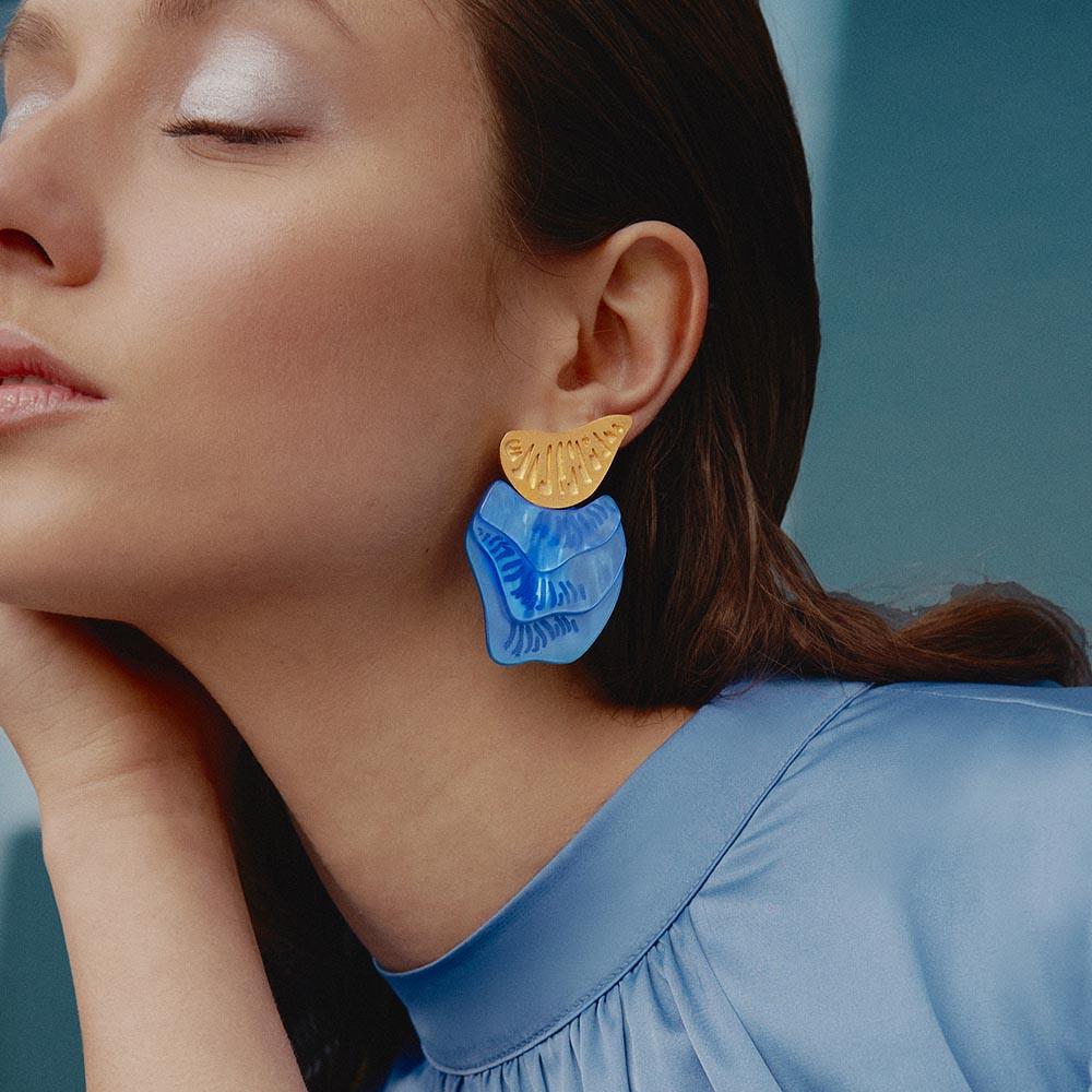 Interchangeable Drillia Earrings