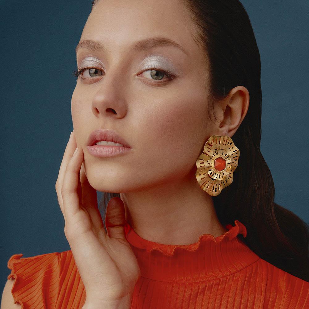 Interchangeable Euphyllia Earrings